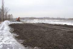 Ziemia zanieczyszczona substancjami ropopochodnymi na poletku bioremediacyjnym