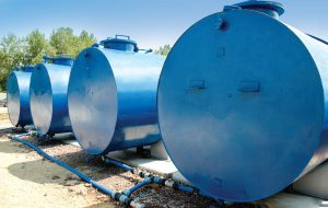 Instalacja przetwarzania wód zanieczyszczonych substancjami ropopochodnymi