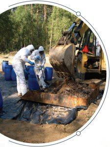 Likwidacja odpadów niebezpiecznych